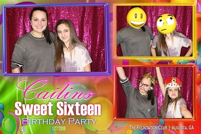 2018.1.27 Cailin's Sweet 16 Birthday Party