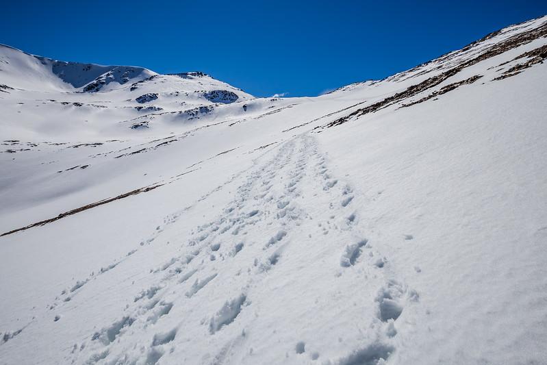 Hiking in Patagonia Pliegue Tumbado Lina Stock