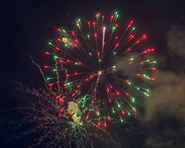 Canada Day Fireworks Moosonee 2013