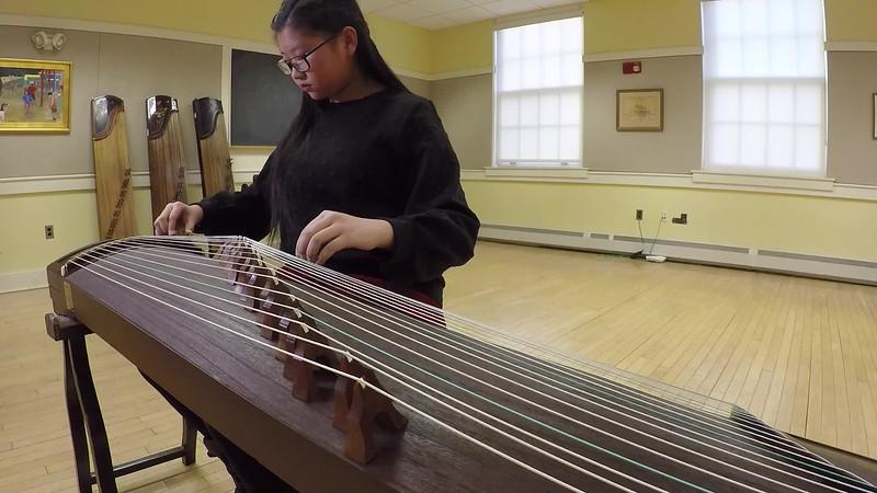 2018-01-13 (Videos) Winter Guzheng Recital