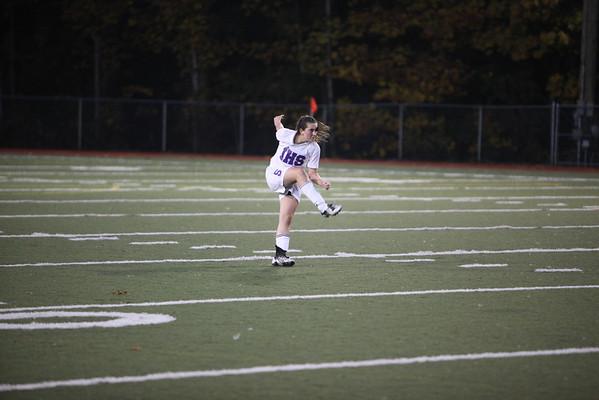2009-10-20 IHS JV Girls Soccer vs Roosevelt