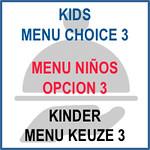 493 Kids menu choice 3