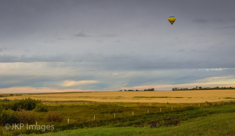 Early Morning Flight, near Clairmont AB