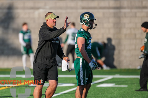 Cal Poly Football Spring Practice 04132018