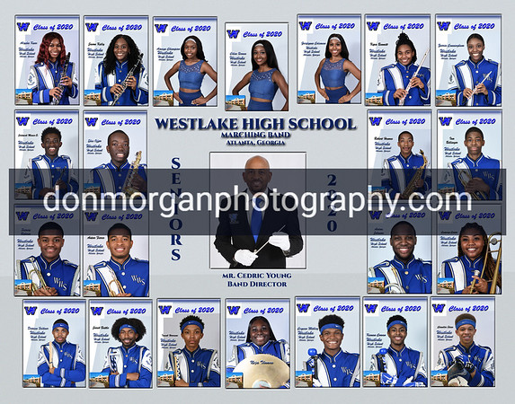 2020 Westlake Band Composite