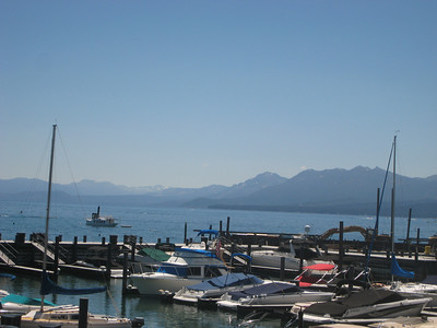 Lake Tahoe with Bill and Sharon Neuman, August 2010