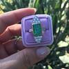 4.05ct Emerald and Old European Cut Diamond Ring 40