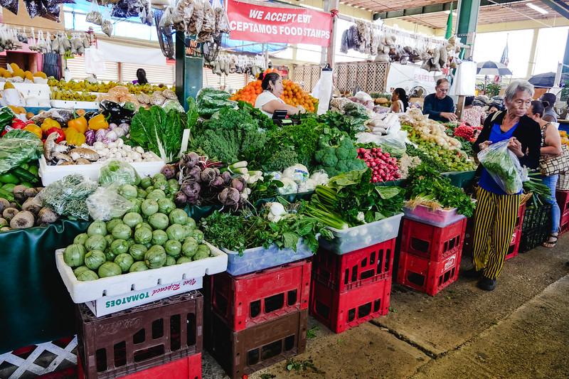 A plethora of veggies