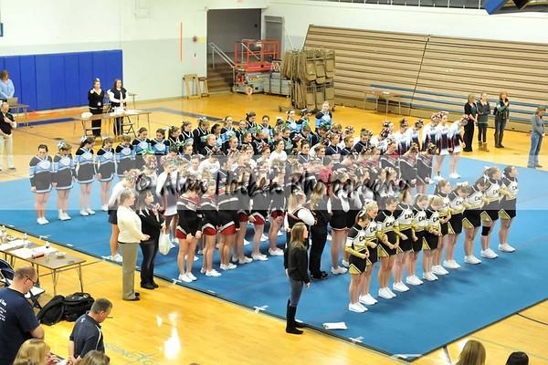 Cheer League meet at LCHS - Miscellaneous