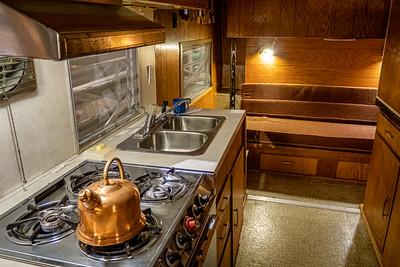 1966 Mustang (Westward Coach) Interior Kitchen