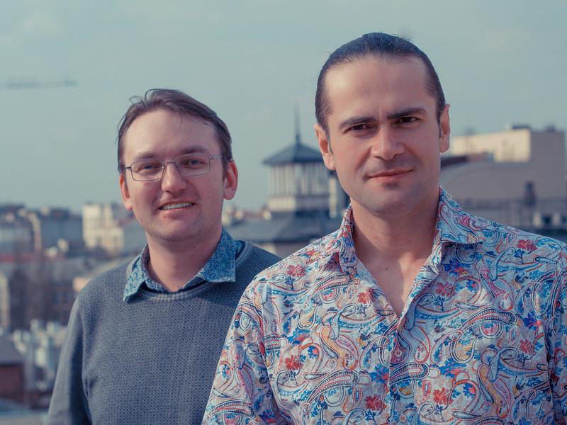 Mikhail Kuzmin and Sergey Galyonkin