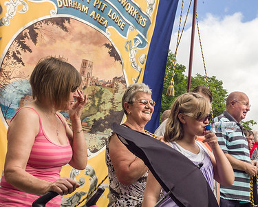 Memory and return - Durham Miners' Gala 2009-2011