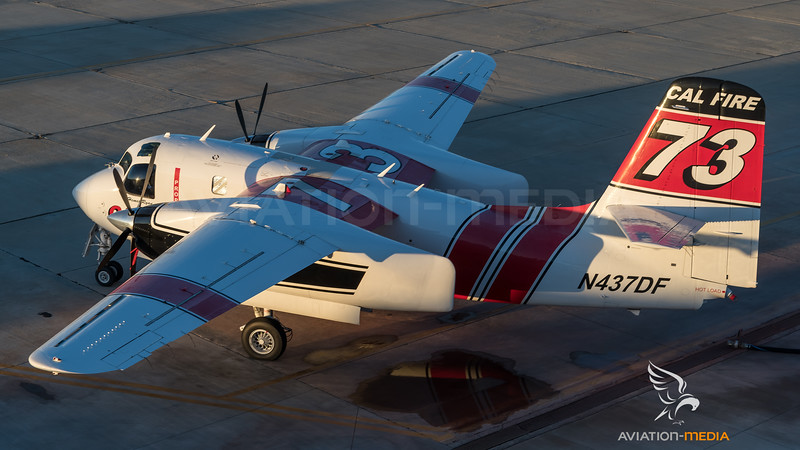 CAL Fire / Marsh Aviation S-2F3AT Turbo Tracker / N437DF