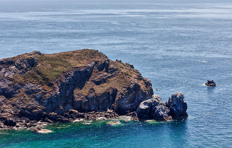 Cliffs on peninsula Cotentin, France - Nez de Jobourg, Basse Normandy, France