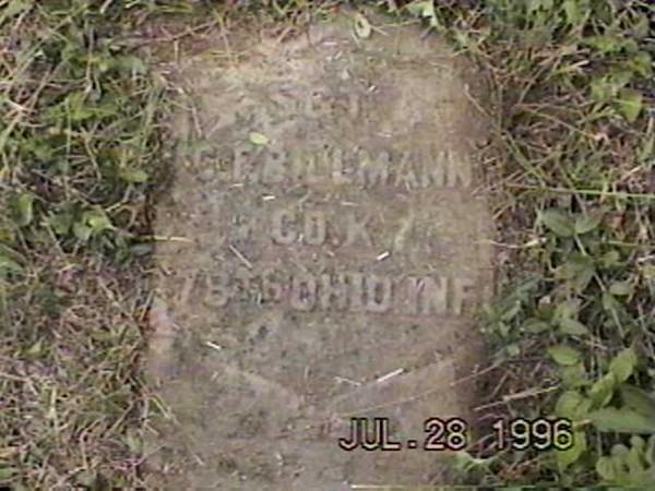 C F Billman (78 OVI, Co K) 2