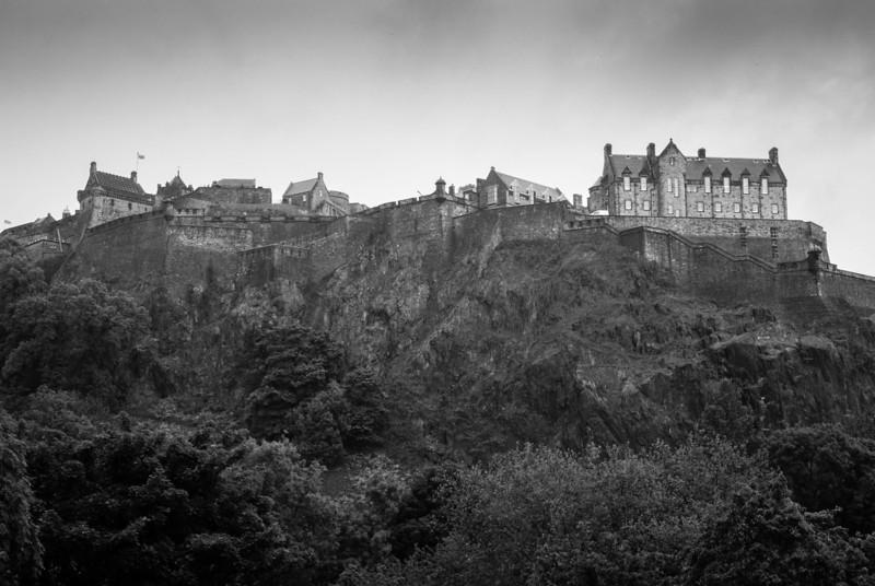 Returned to Edinburgh late morning