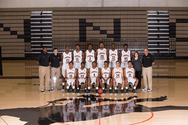 2014-15 Mens Basketball Portraits