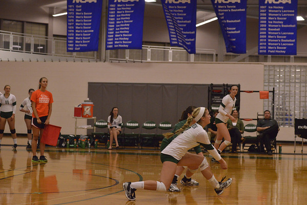 BABSON WOMEN'S VOLLEYBALL  V  JOHNSON & WALES  9.19.2013
