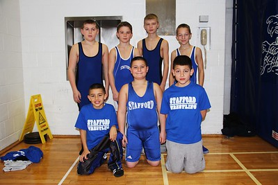 Stafford Youth Wrestling 2013-14 Action Photos