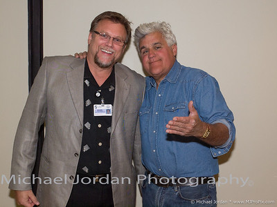 TSR Jay Leno Back Stage