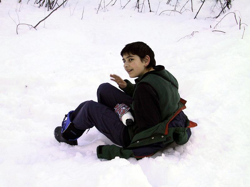 Ben on Whipple Hill   (Mar 12, 2001, 04:40pm)