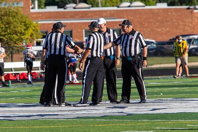 2020-09-04 -- Twinsburg Tigers vs Kent Football Scrimmage