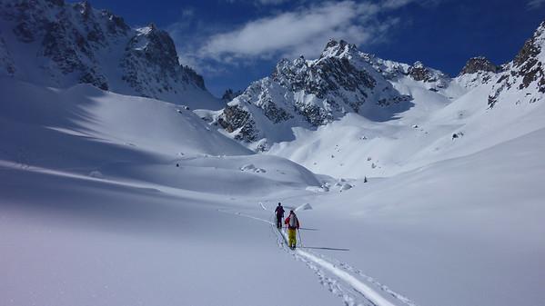 Col de Genepi Ski Tour , Feb 2018