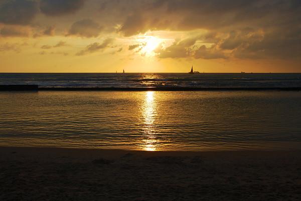 Waikiki Sunset, Hawai'i