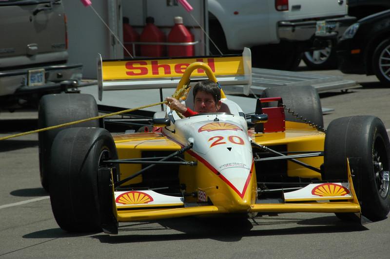 Bill Hart / 1999 Lola Champcar