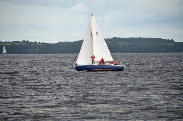 2013-08-09 Breakaway on Lough Derg as 'Arthur' returns from the salty!