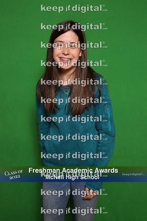 McNeil Freshman Academic Awards 2019