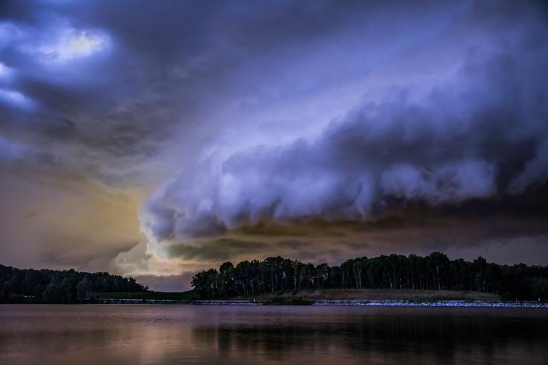 Lake Brandt Shelf Cloud