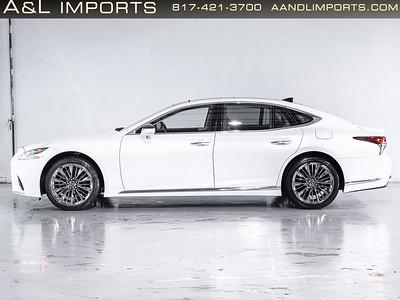 White Lexus LS500 - JTHC5LFF5J5004642