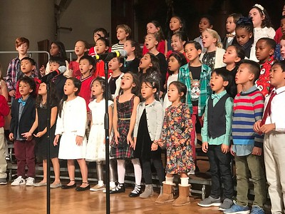 Lower School Winter Sing 2018
