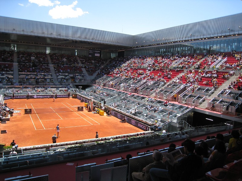 Madrid Open Center Court - Caja Magica with retractable roof
