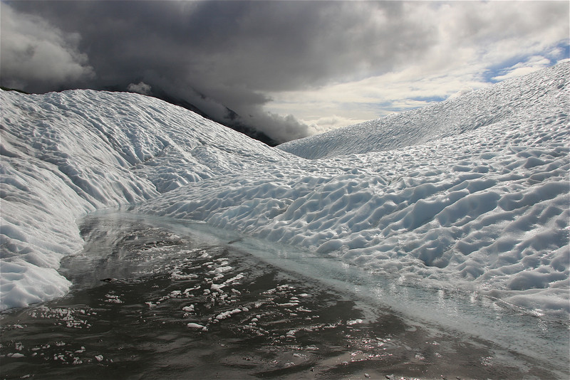 Ice will melt, Water will boil. Wrangell - St Elias National Park, Alaska.