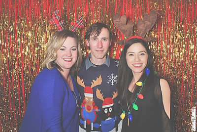 12-14-18 Atlanta Sidney Lanier Cottage Photo Booth - Eye Center Christmas Party 2018 - Robot Booth