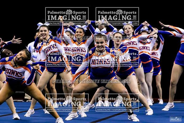 Hanahan-2019 State Cheerleading Championship