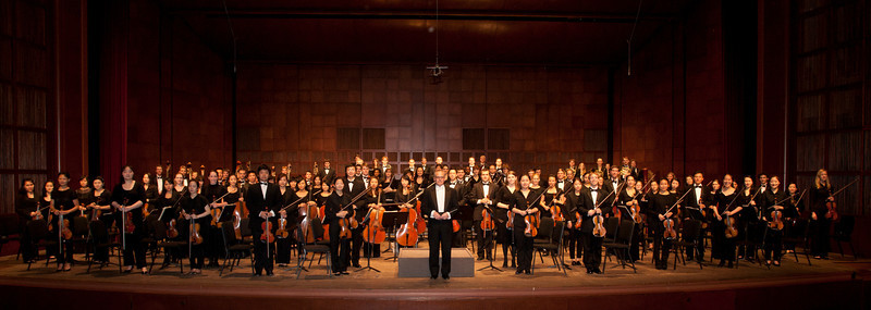 Philharmonia and Concert Orchestra Fall 2012 Don Juan Rehearsals