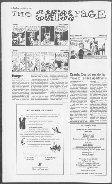 Daily Trojan, Vol. 121, No. 36, October 20, 1993