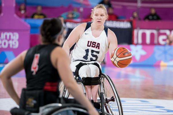 8-30-2019 Women's Finals- USA vs CAN