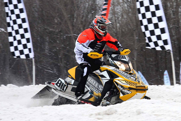 East Coast Snocross at Crete Center (Plattsburgh, NY) 2011