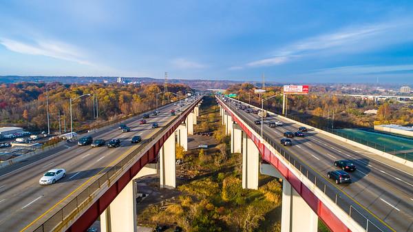 I-480 Bridge Drone Photos