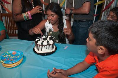 Shamika's 11th Birthday with Family