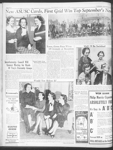 Daily Trojan, Vol. 28, No. 9, September 30, 1936