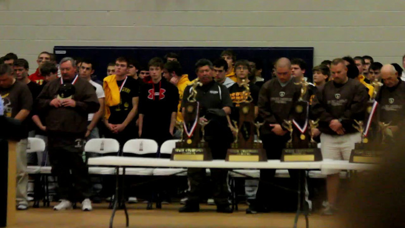 2011 JCA Varsity Championship Reception