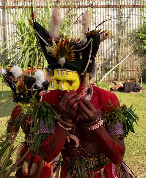 Huli Tribe Wigman Goroka Show Sing-Sing 2019 Independent State of Papua New Guinea