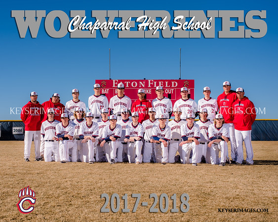 2018 CHAPARRAL BASEBALL TEAMS