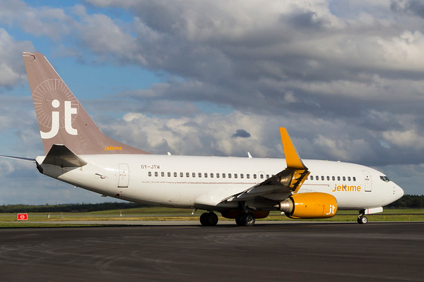 OY-JTW - Boeing 737-7L9