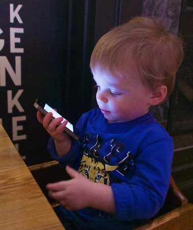 Isaiah at Cheeky Monkey Bistro - March 13, 2015